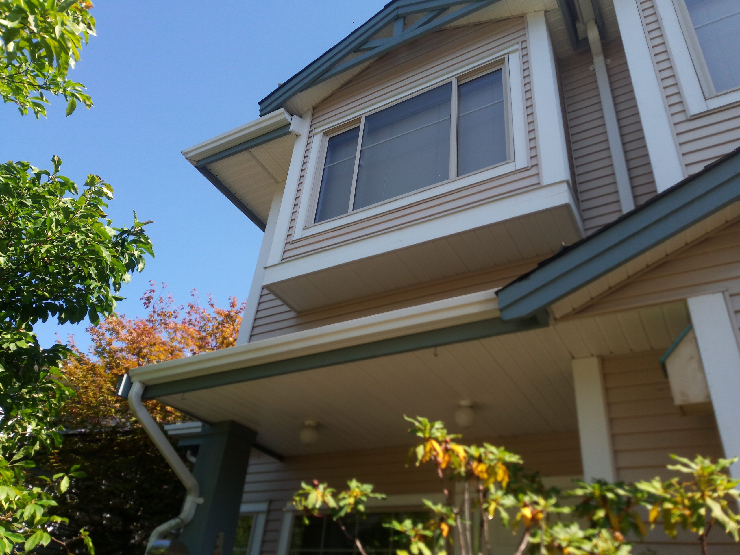 Exterior House Washing And Paint Preparation